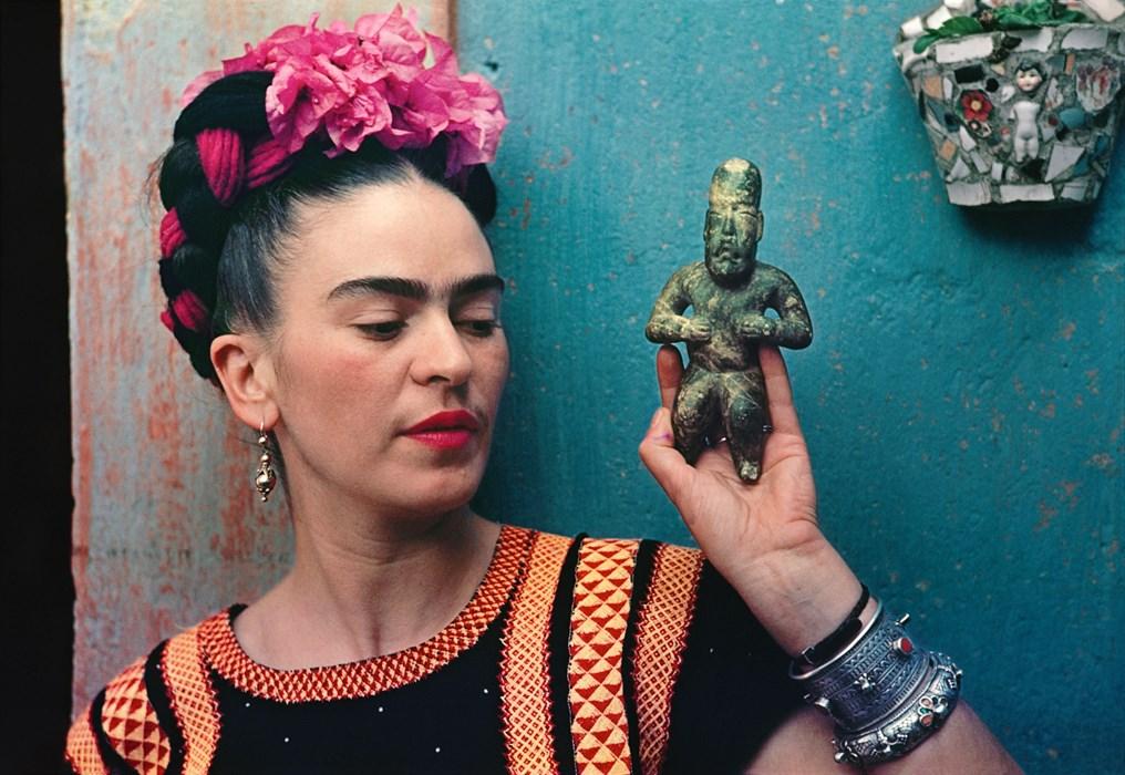Frida Kahlo photo Nickolas Muray
