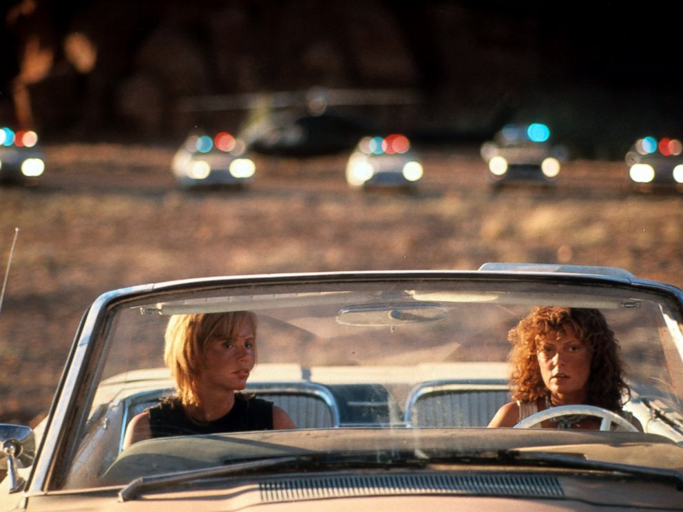 Susan Sarandon and Geena Davis as Thelma and Louise (1991)