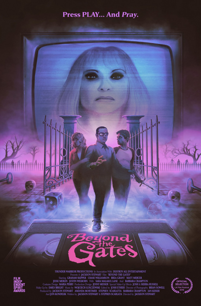 Beyond the Gates (2016) movie poster