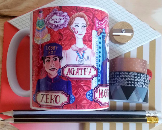 Wes Anderson's The Grand Budapest Hotel Coffee Mug Etsy