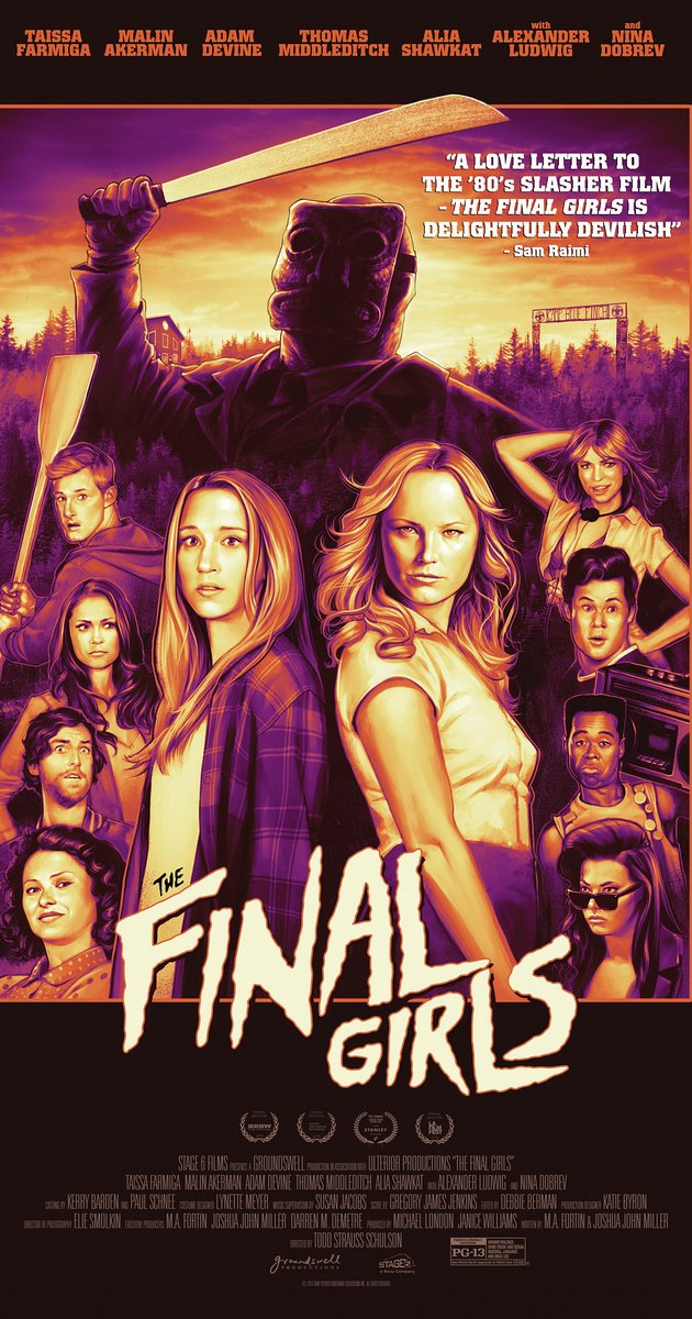 The Final Girls Movie Poster 2015