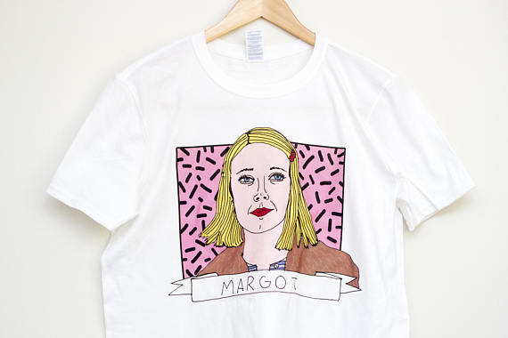 Margot Tenenbaum Illustrated T-Shirt Wes Anderson