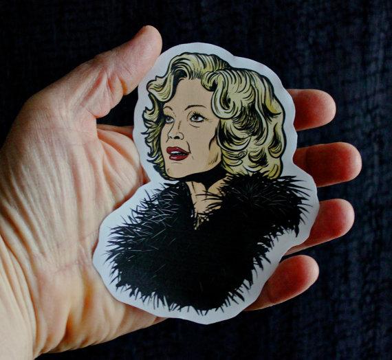 Elsa Mars - American Horror Story Paper Sticker Christmas gift
