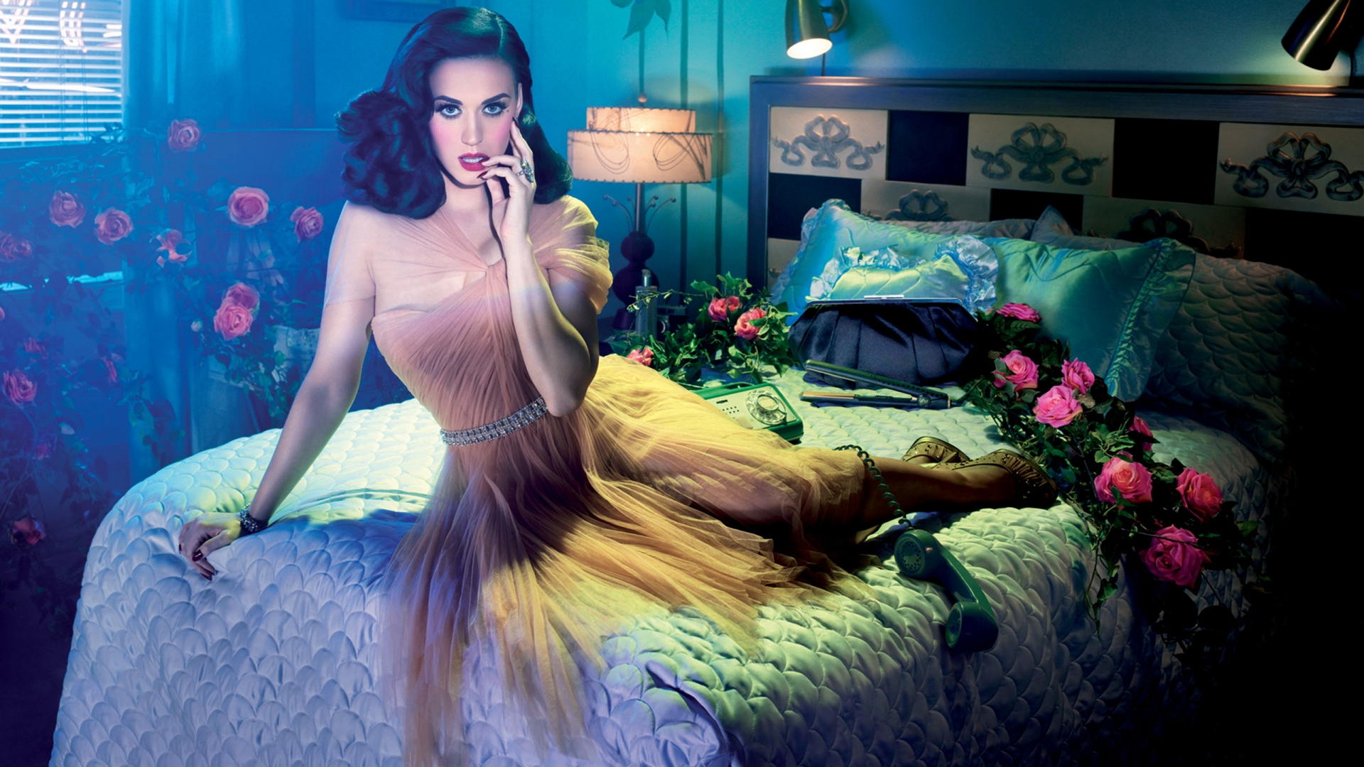 Katy Perry GHD Advertisement by David LaChapelle