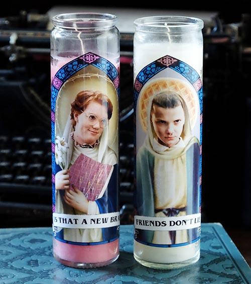 Barb and Eleven Candle Set Stranger Things Gift Idea