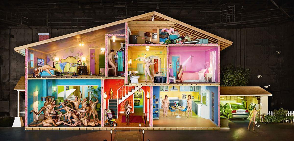 House as Self-Portrait by David LaChapelle
