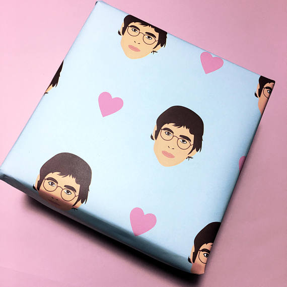 louis theroux wrapping paper etsy