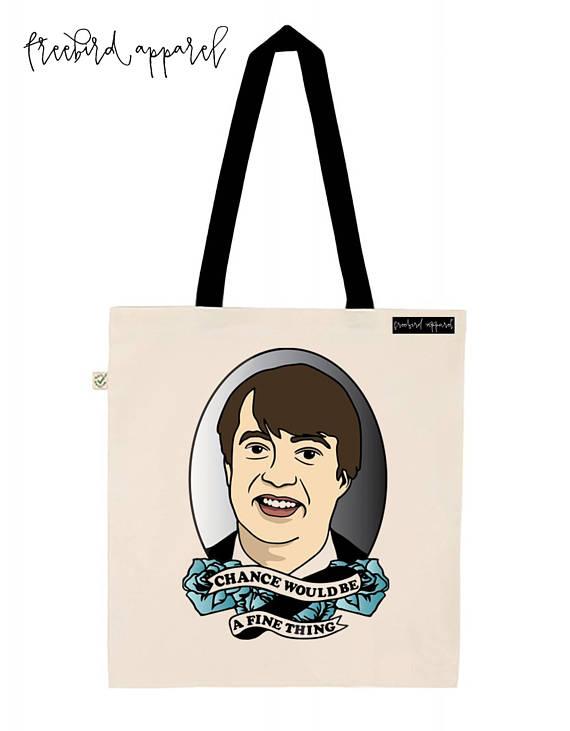 Mark Corrigan Peep Show Tote Bag etsy christmas gift idea