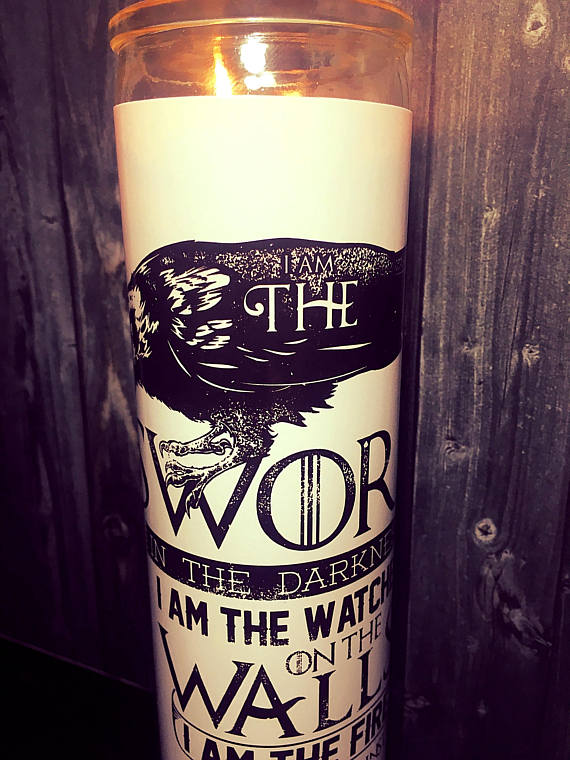 GOT Game of thrones candle christmas gift idea