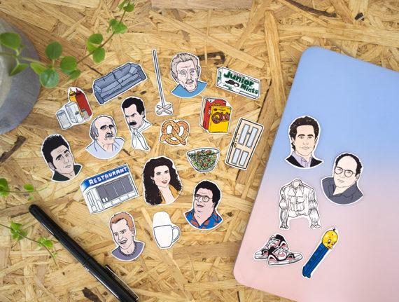 Seinfeld Sticker Set
