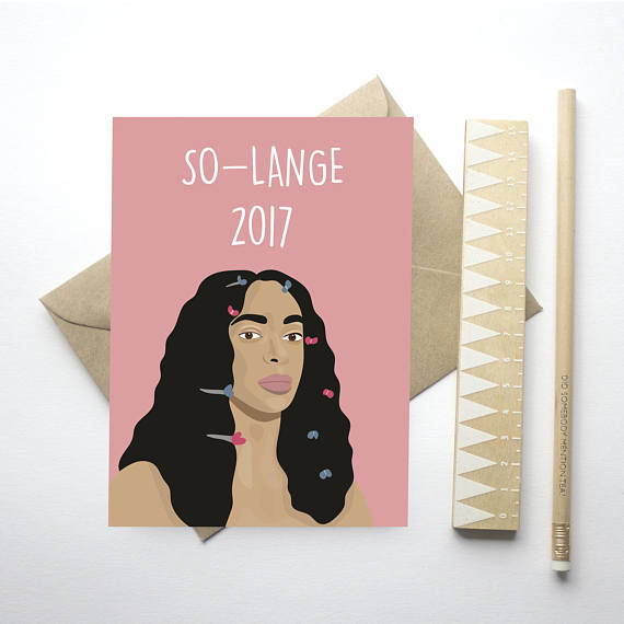 solange Christmas card