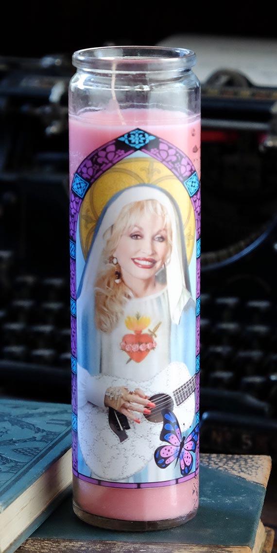 Dolly Parton Prayer Candle Christmas Gift Idea