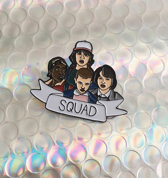 Stranger Things - Squad Pin gift idea