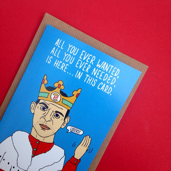 40 Brilliant Pop Culture Christmas Cards And Wrapping