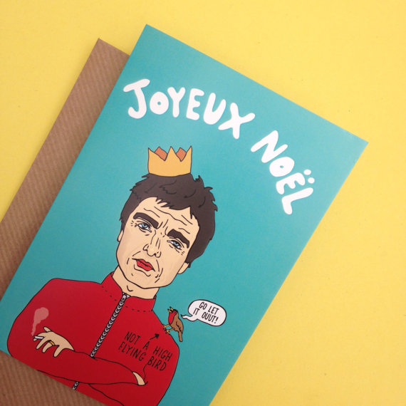 Noel Gallagher Christmas Card
